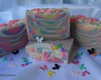 Neon Kaleidoscope Premium Handmade Artisan Soap