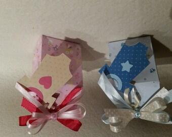 box holder for birth baptism communion