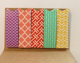 Washi page flags