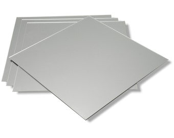 450 x 450mm Square 3mm Mirror Tiles (Pack of 4)