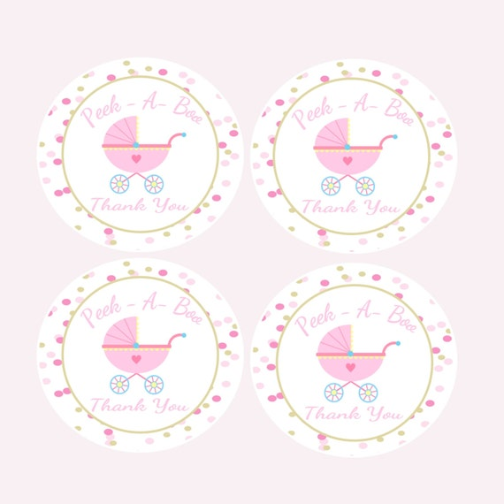 Baby Shower Gift Tags Printable Free: Items Similar To Printable Baby Shower Favor Tags
