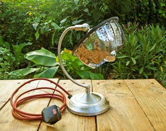 Upcycled Vegetable Steamer Lamp