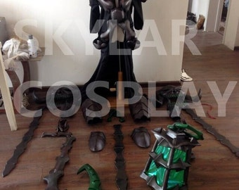 LOL League of Legends cosplay costume Chain Warden