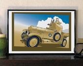1920 British Army Desert ...
