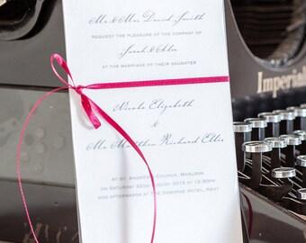 Roma Wedding Invites, Wedding Invitations, Invites, Wedding Stationery