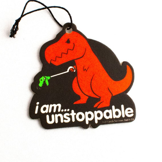 Funny Car Air Cleaner : Unstoppable dino air freshener gtaf by goodietees