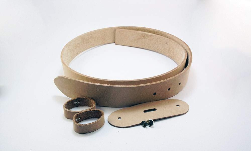 genuine leather belt blank 1 5 wide of 9 10 oz veg
