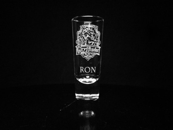 Harry Potter House Personalized Shot Glass Custom Shot Glass