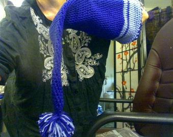 Elf baby hat in crochet