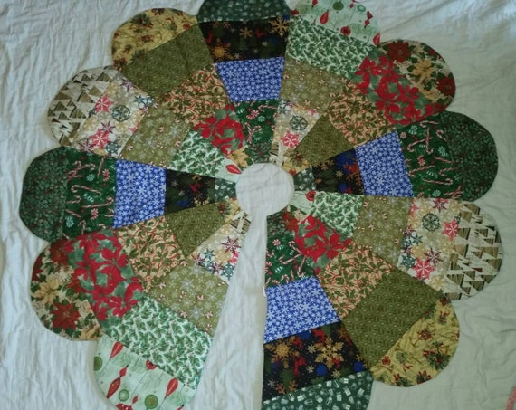 Tree Skirt Quilted 78