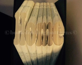 home  book folding pattern