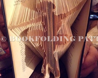 Ballerina book folding pattern