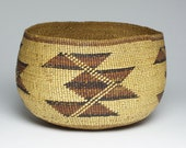Antique Native American Indian Hupa Basket