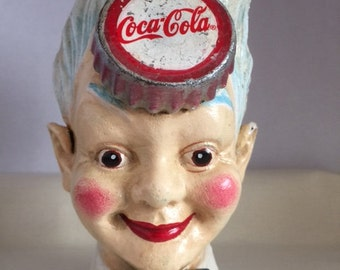 Vintage Coca Cola Money Box