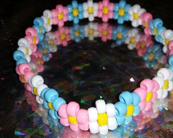 Kandi Rave Flower Headband
