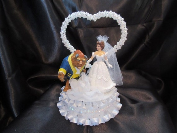 beauty and the beast wedding cake topper rose unavailable listing on etsy 11250