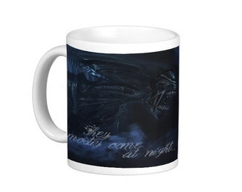 Aliens Mug. Sci-fi. Horror.