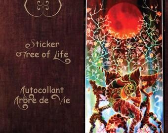 Set of 5 Sacred Geometry Stickers and Numa stickers - set de 5 autocollants de géométrie sacrée
