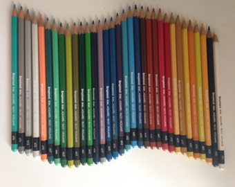 Set of coloured pencils Bruynzeel am Design Aquarel
