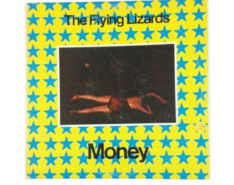 "The Flying Lizards - ""Money b/w Money B"", DSKO-217, vintage vinyl record 12"" single, vg+/vg+"