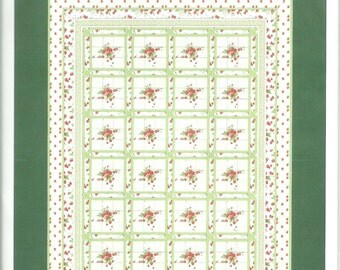 Strawberry Fields Quilt Pattern by Hilary Bobker