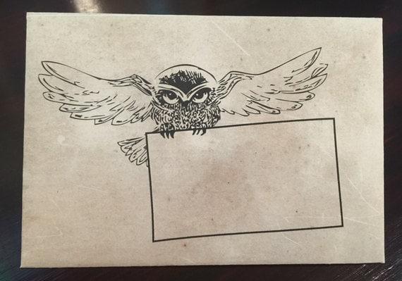 Remarkable image inside harry potter envelope printable