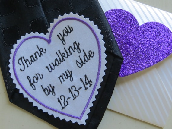 Sweet Idea: Embroidered Wedding Patch Woman