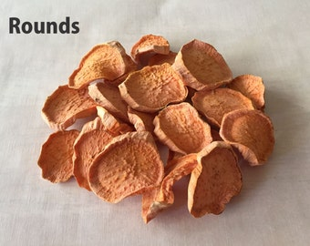 Sweet Potato Chews • Dehydrated • Yummy Dog Treats • All Natural • 5 Ounces • Daphne's Dawggie Delights