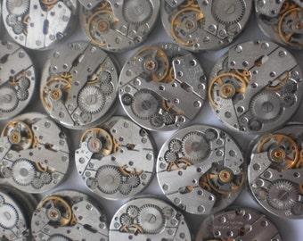 Montre beaucoup de pièces - 300 montre mouvements 20 mm - Vintage soviétique mécanismes steampunk femmes montres / Union soviétique / USSR