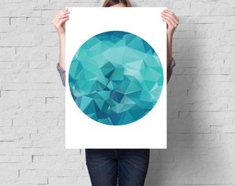 Abstract wall art, Abstract art, Circle print, Modern art, Modern print, Minimalist print, Art print, Home print, Abstract decor