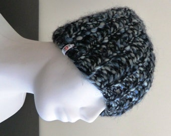 Knitted wool hat