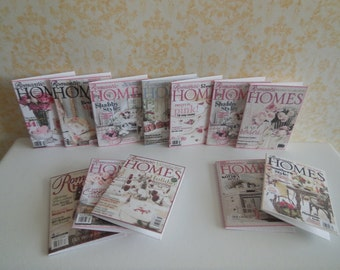 1:12 DOLLHOUSE Magazine Romantic Homes