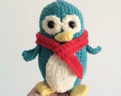 Percy the Penguin - a crochet little penguin for soft play