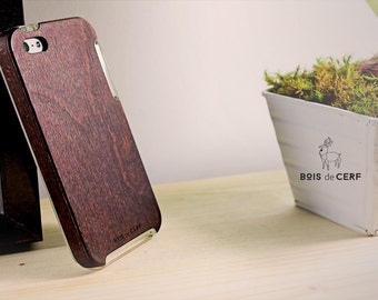 Wooden case for iPhone 5/5S eco-design and manufactured in France