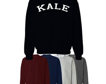 Kale Sweater Jumper Sweatshirt Printed UK Womens Mens Ships Worldwide S-XXL