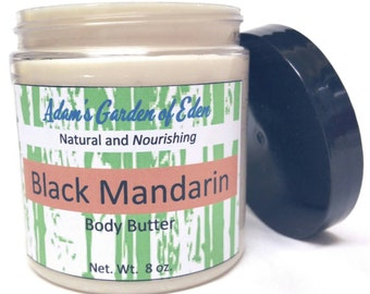 Black Mandarin Moisturizing Body Butter 8oz.