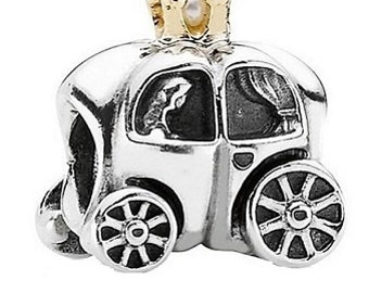 Sterling Silver New Royal Carriage Charm