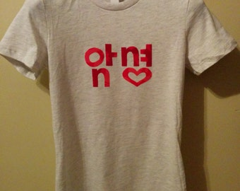 Hangul T-shirt, Ladies' Assorted **SALE**