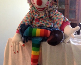 Handmade Circus Clown