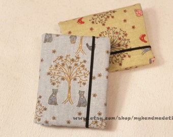 Card Holder Credits Cards Holder Business Cards Holder - Trees and Cats