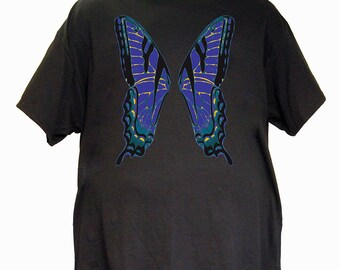 Blue Faerie Wings Tee