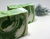 Colorado Spruce Soap - the fragrance of a pine forest with a little added sweetness, premium ingredients, handmade soap, pine soap