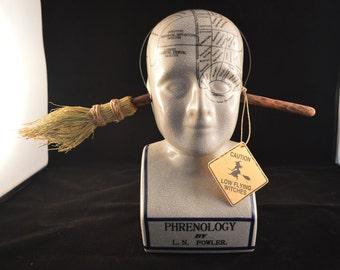 Witch Broom Thru Head Headband