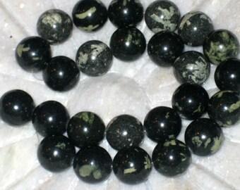 Chinese writing stone beads
