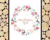 """Instant Download """"Merry Christmas Y'all"""" Poster [JPG] - 20% of the Sale Will Go Toward a Charity"""