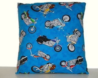 Motorcycles - Accent Pillow