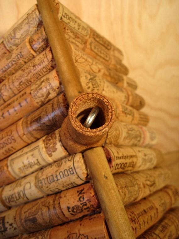 Bouchon de vin et voli re style cabane en bois par nicoswoodshop - Quantite de vin par personne ...