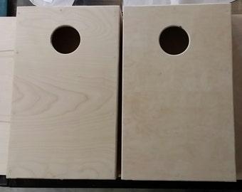 Cornhole Mini Boards--4inch hole--Homemade--indoor/outdoor fun!!