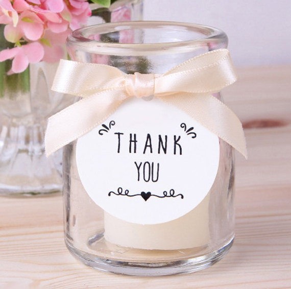Handmade Thank You Wedding Gifts : 10 Thank you tags / handmade packaging tags Wedding Favors, Hang Tag ...