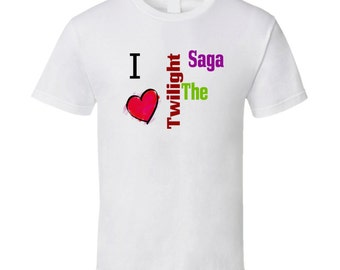 I Love The Twilight Saga T-Shirt